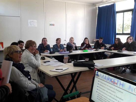 Organisation du MARKETHON à Castelnaudary pour les DATR2