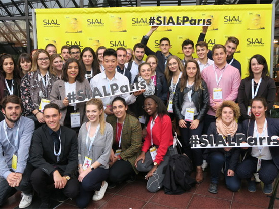 103 apprentis AIRFIC au SIAL (Salon international de l'alimentation) à Paris