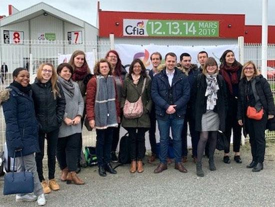 Les MS2 Manager de Projet en Agro-Alimentaire au rendez vous du CFIA à Rennes