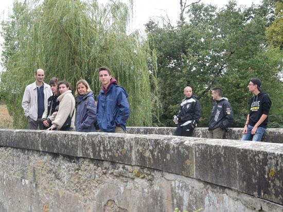 Les BTSA Gestion de l'eau découvrent le système hydraulique local